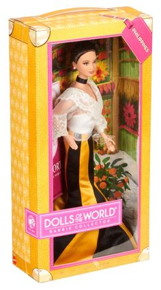 Amazon.com: Barbie Collector Dolls of The World-Philippines Doll: Toys & Games