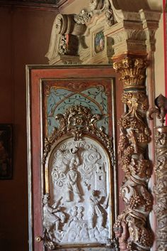 Ornate Door at Hearst Castle