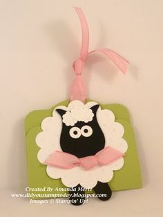 Owl Punch Sheep Door Prize Ticket -Closed by mandypandy - Cards and Paper Crafts at Splitcoaststampers Scrapbooking, Scrapbook Cards, Owl Punch Cards, Paper Punch Art, Owl Card, Craft Punches, Card Tags, Kids Cards, Greeting Cards Handmade