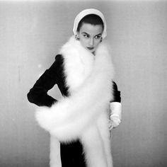 cde4bfc531b Photo by Gordon Parks - October 1952 Vintage Fur
