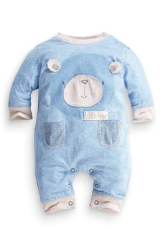 Buy Blue Bear Romper (0-18mths) from the Next UK online shop