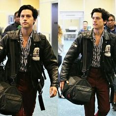 Photos of Cole (and Lili) back in Vancouver yesterday #colesprouse