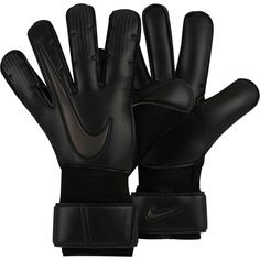 Shop for these triple black Vapor Grip 3 gloves by Nike from SoccerPro right now! Soccer Goalie, Soccer Kits, Nike Soccer, Goalie Gloves, Football Gloves, Keeper Gloves, Soccer World, Sports