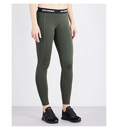 7daaa85c70fea IVY PARK Logo-Trim Stretch-Jersey Leggings. #ivypark #cloth #workout clothes
