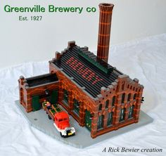 Raise a glass to this LEGO brewery http://www.brothers-brick.com/2016/05/19/raise-a-glass-to-this-lego-brewery/