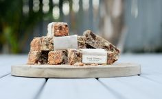 """Wholesome, healthy and full of organic goodness. These organic muesli bars are the perfect """"on the go"""" snack. Whether you are travelling long distance or just in need of something healthy in a hurr. Muesli Bars, On The Go Snacks, Long Distance, Travelling, Packaging, Organic, Baking, Healthy, Cereal Bars"""