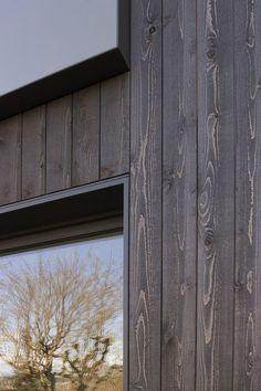 Image result for wood cladding METAL FRAME corner DETAIL