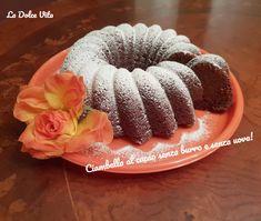 Ciambella al cacao senza burro e senza uova! Doughnut, Cacao, Baking, Desserts, Bread Making, Tailgate Desserts, Deserts, Patisserie, Dessert