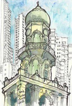 Sketching Hong Kong 港人畫港: Central 中環