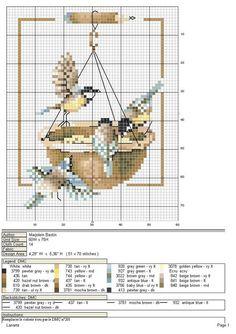 birdhouse+cross+stitch | Found on Uploaded by user