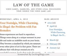 Law of the Game - Click to visit blog:  http://1.33x.us/Ix6haI