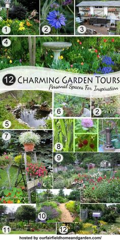 Tour 12 Charming Gardens  (Personal Spaces for Inspiration)