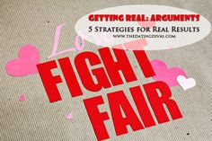Strengthen your marriage with these tips on fighting fair. www.TheDatingDiva... #marriageadvice #strengthenmarriage #loveideas