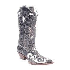 Corral Boots Ladies Distressed Goat/Lizard Style: C2116