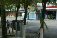 Limon Province - The Caribbean resort town of Puerto Viejo.