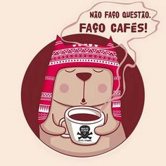 Não faço questão. Faço cafés. I Love Coffee, My Coffee, Cafe Me, Tea And Books, Coffee Pictures, Coffee Corner, Coffee Company, Some Quotes, Coffee Cafe