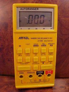 Amrel American Reliance Inc 3100 MultiMeter