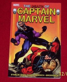 Marvel The Death of Captain Marvel Collectible Comic Book