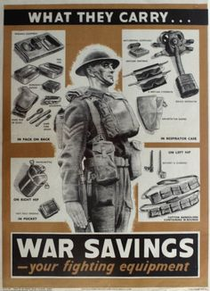 Brit Tommy fighting kit