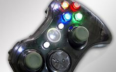 """This is our """"Smoke"""" Xbox 360 Modded Controller. All modes are adjustable rapid fire meaning you can choose any speed from 1 to 30 shots per second, depending on specific game restrictions. Since you have 6 classes to choose from you can set each class up to match all of your custom classes in your favorite COD game. You will never have to adjust the controller again! All RapidModz.com controllers are 100% undetectable in all Games."""