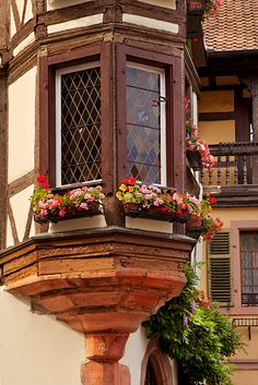 Building in Kaysersberg, Alsace - France