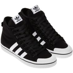 Adidas Honey Stripes Mid Shoes and other apparel, accessories and trends. Browse and shop related looks.