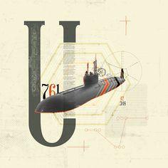 U761 by Kacper Kiec, via Behance