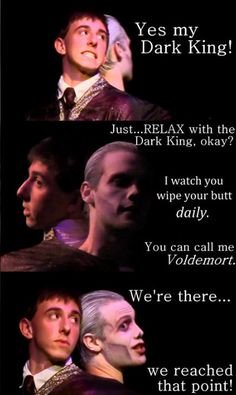 Quirrel + Voldemort--- WE'VE REACHED THAT POINT HAHAHA