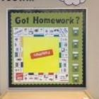 Homeworkopoly- Sweet Shoppe Theme