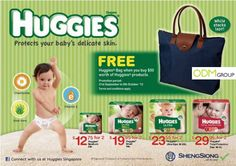 Huggies GWP: Tote Bag Promotional Bags, Case Study, How To Apply, Tote Bag, Totes, Tote Bags