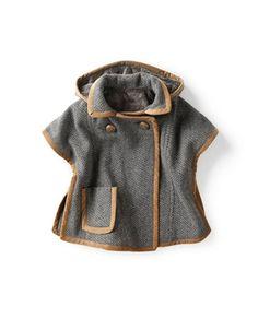 Une idée de manteau pour la Poulette...