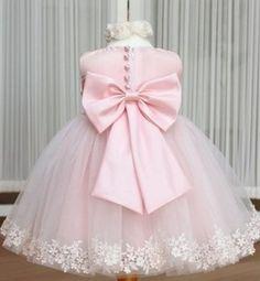 PINK Ball Gown Wedding Flower Girls Dress-Purple Wedding Dress