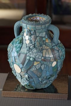 Turquoise Amphora