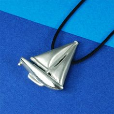 Nautical Jewelry – Silver Sailboat Necklace #sailboat #sailboatnecklace #sailboatpendant #sailboatcharm #silversailboat #sailboatgift #sailboatsilvergift #sailboatjewelry #sailboatjewellery #silversailboatnecklace
