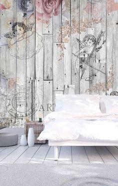 Vlies Fototapete 350x245 cm Tapete Wandbilder XXL Wandbild Bild Fototapeten Tapeten Wandtapete Wand Holz Vintage
