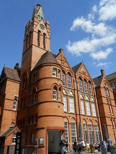 Birmingham Ikon Gallery ~  Brindleyplace, Birmingham, England