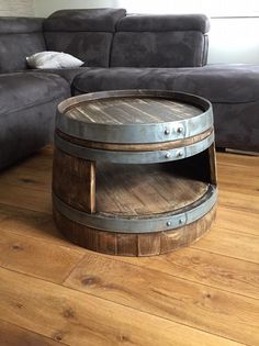 table-basse-tonneau-a-vin-avec-etagere-aspect-whisky-tonneau/ delivers online tools that help you to stay in control of your personal information and protect your online privacy. Wine Barrel Coffee Table, Whiskey Barrel Furniture, Coffee Table With Shelf, Wine Barrel Bar, Barrel Projects, Car Furniture, Home Coffee Stations, Shabby Chic, Bourbon Barrel