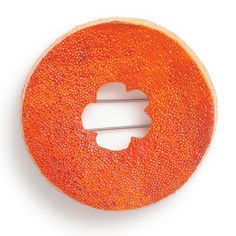 Mark Vaarwerk brooch orange