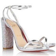 Christian Louboutin Au Palace Sandals 120mm Crystal/Patent leath