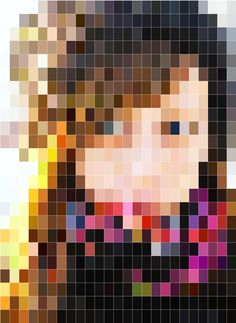 Mosaic of one of my friends.