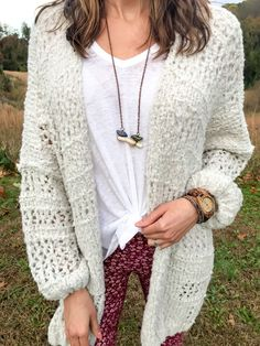 Clothing Items You Have to Stock Up on this Moment Free people cardigan, Billabong floral pants, boho vibes
