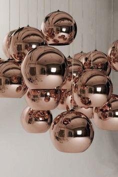 AphroChic: Tom Dixon's Copper Shade Is A New Modern Classic