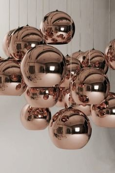 Modern Classic // Tom Dixon Copper Shade