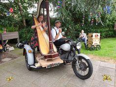 Harpiste Petra en Zanger Marcel brengen sfeervolle liedjes van vroeger. Perfect voor zorginstellingen. Combinatie op klassieke motor kan binnen staan, buiten of zelfs rijdend plaatsvinden. Marcel, Petra, Bmw, Motorcycle, Vehicles, Motorcycles, Car, Motorbikes, Choppers
