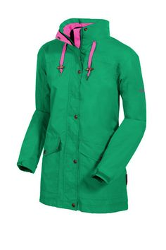 Target Dry Ladies Olivia Waterproof Jacket - Emerald Green Our Olivia Jacket provides lightweight insulation and features deep front pockets to store