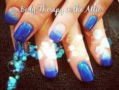 Bluebell  Magpie glitter  #gelllmanicure #bluecoconut #magpieglitter #bluebell #newyear #classy&fabulous #beautifulnails #secretofhealthynails #nailsecret #nailart #nailledit #nails #longlasting #21dayswear #naildesign #nailstagram @magpie_beauty @gel_two