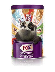 Vinnie's Bursting Barrel of Biscuits