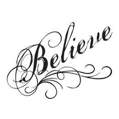 Believe In Yourself Temporary Tattoo