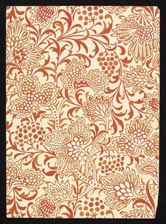 Wallpapers for Staircase Decoration designed by Lewis F. Day