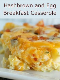 and Egg Breakfast Casserole Hashbrown and Egg Breakfast Casserole on - perfect for an easy breakfast!Hashbrown and Egg Breakfast Casserole on - perfect for an easy breakfast! What's For Breakfast, Breakfast Dishes, Breakfast Recipes, Breakfast Egg Bake, Frozen Breakfast, Hash Browns, Egg Bake With Hashbrowns, Hashbrown And Egg Casserole, Breakfast Casseroles With Hashbrowns